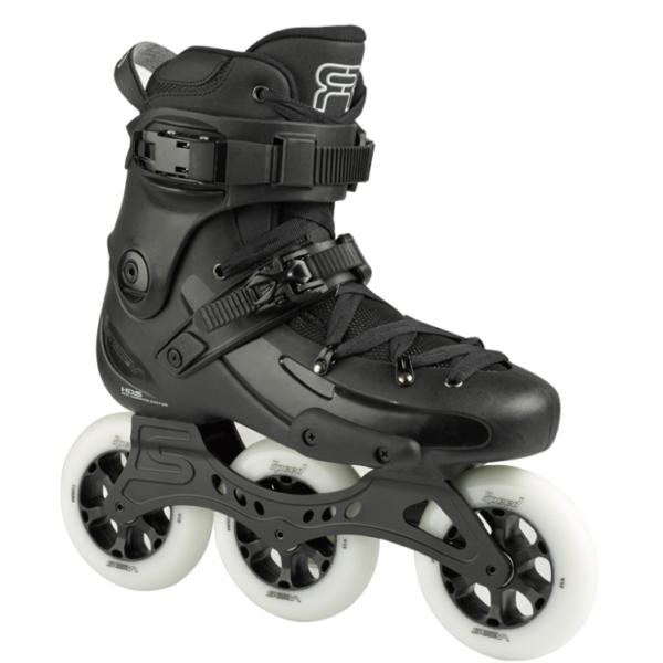 black black skate fr1 with 3 110 mm wheels