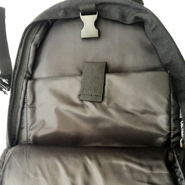 big seba skate bag inside pocket and computer container