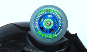 blue hyper knee wheel for silver-blue buggy rollin set