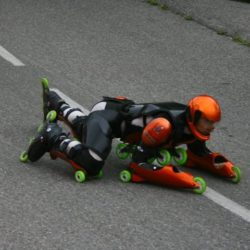 Rollerman at Peyragudes 2009