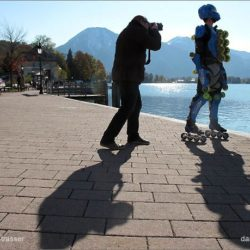 Rollerman and Sarajevo challenge at Tegernsee Film Festival