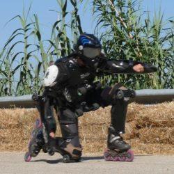 Rollerman at Cisterna d'Asti