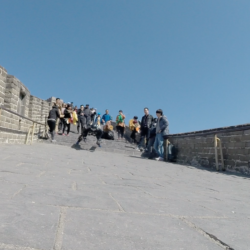 rollerman great wall Grande Muraille
