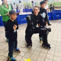 Rollerman at Shanghai April 2016