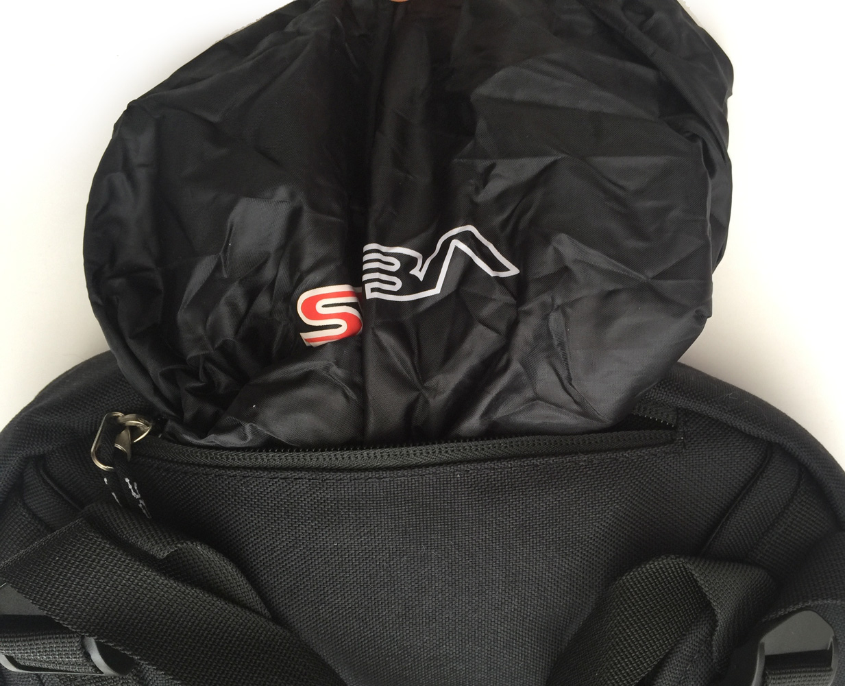 big seba skate bag how to open the rain cover