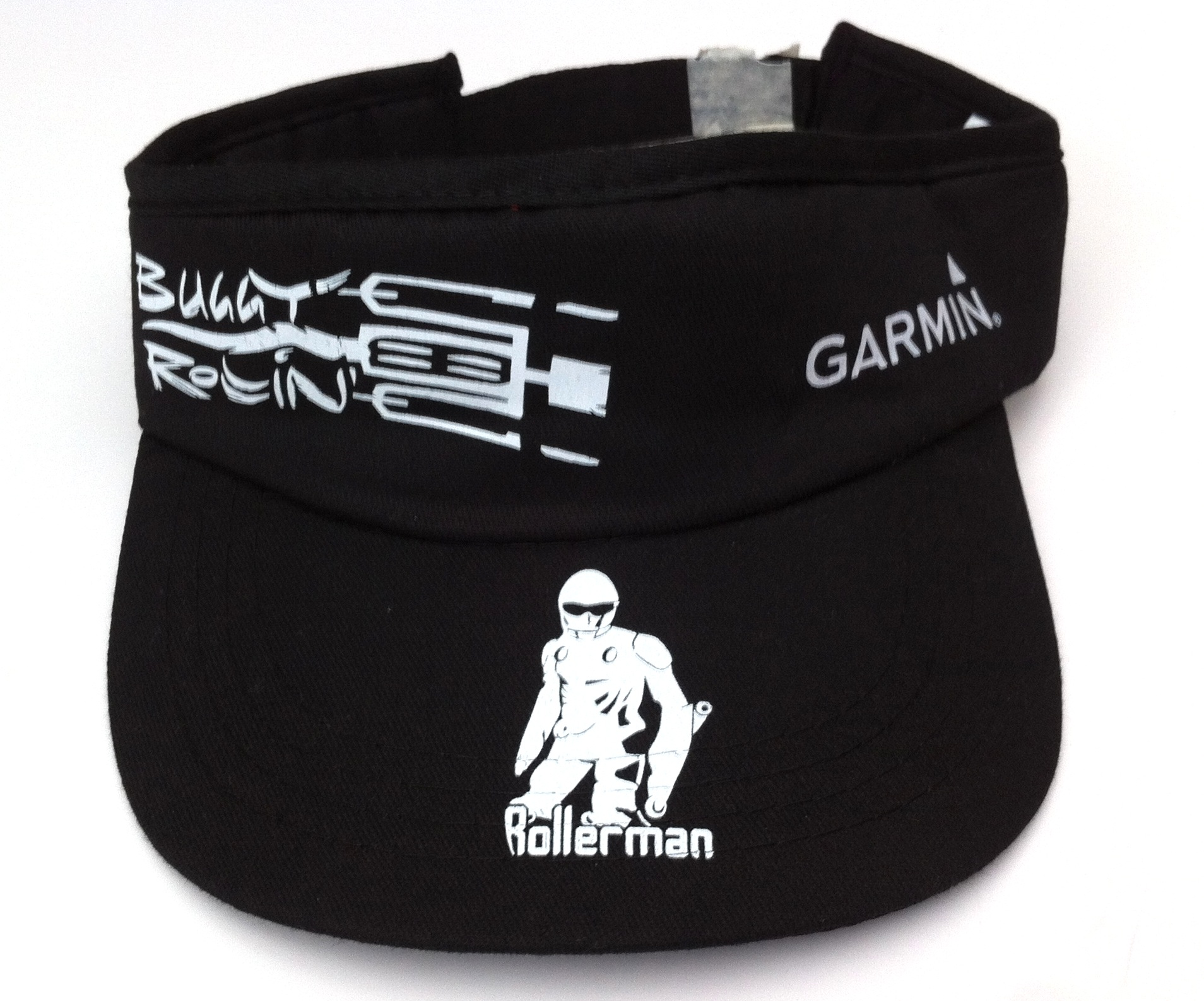 garmin buggy rollin golf cap close up