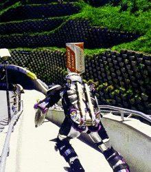 La premiere descente de Rollerman en piste de Bob Rollerman first runs in Bob Tracks