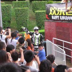 Spectacles a Shenzhen rollerman Show in Shenzhen