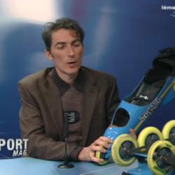 presentation of BUGGY ROLLIN Leman Bleu télévision lémanique suisse
