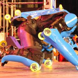 Rollerman at Haining