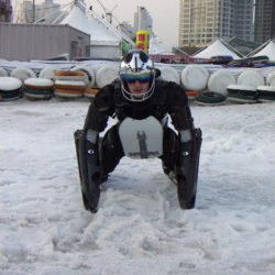First steps in BUGGY SKI