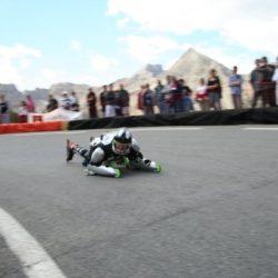 Rollerman at Izoard pass France