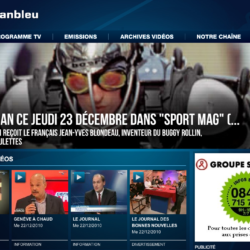 page of Leman Bleu french swiss TV