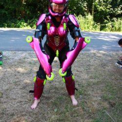 Rollerman a Almabtrieb 2010