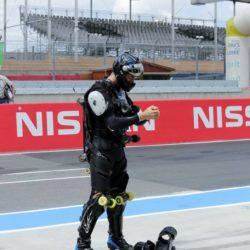 24h du Mans Roller Rollerman at 24h of Mans Roller