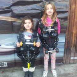 Children visit BUGGY ROLLIN home