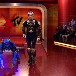 rollerman at Stern TV Allemagne