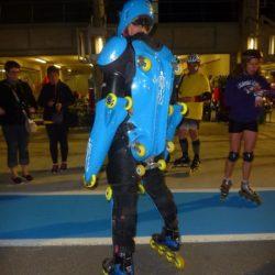 24h du Mans Roller Rollerman at 24 hours of le Mans Roller