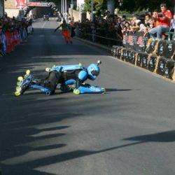 Rollerman at the LUGDUNUM contest