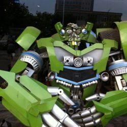 Rollerman at Qin Huang Dao China
