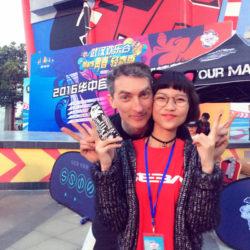 Rollerman at Wuhan