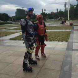 Rollerman at Xichang 2016