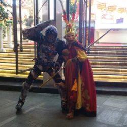 Rollerman at Xichang 2016 video 2016