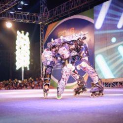 Rollerman at Zhongning