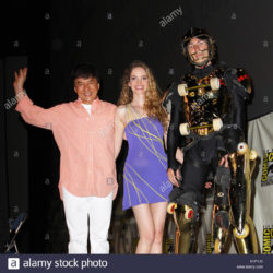 Comic-con with Jackie Chan