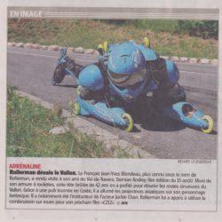 le BUGGY ROLLIN dans la presse suisse 1