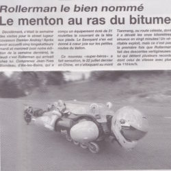le BUGGY ROLLIN dans la presse suisse 2