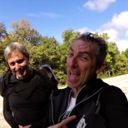 Riderman and Rollerman at Charix